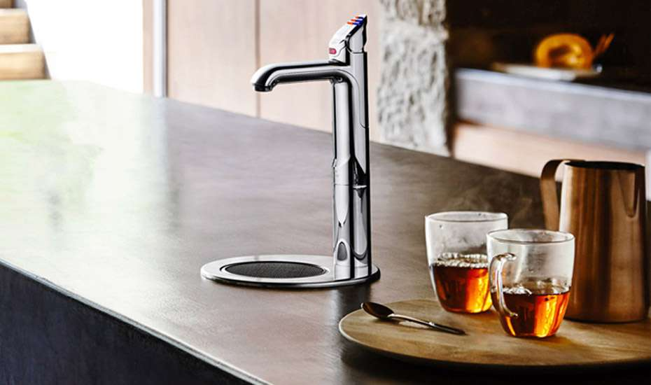 Office Kitchen hot water tap