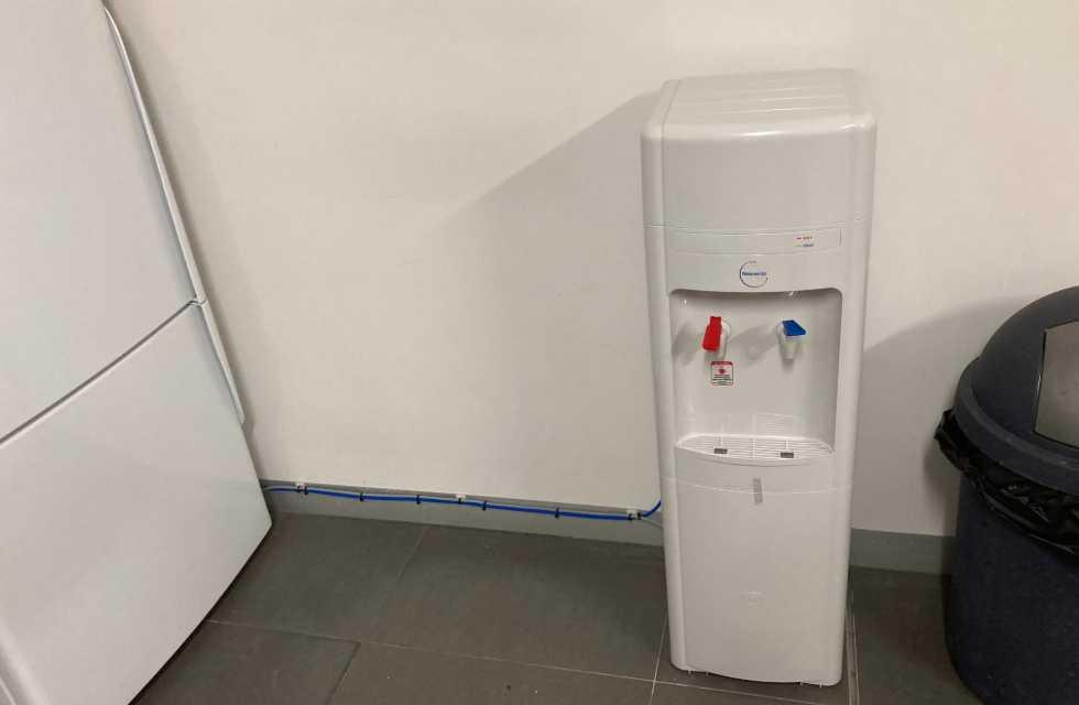 Waterlux Mains Water Cooler Chilled & Hot Floor Standing