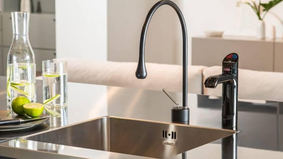 Zip sparkling water tap