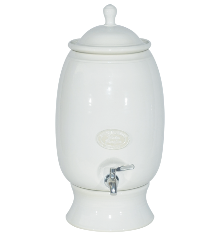 Counter Top 12 Litre Stoneware Crock Water Filter System