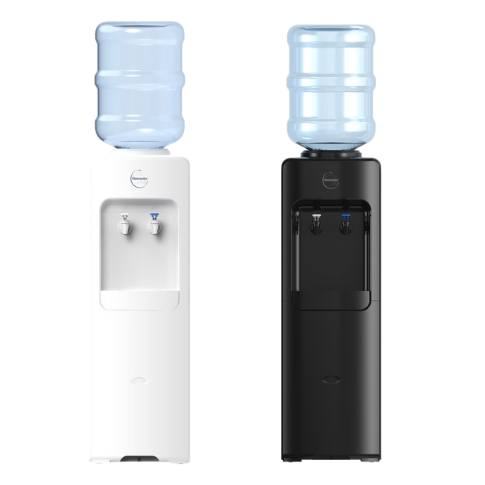 NEW Waterlux Top Filled Bottled Water Cooler, Chilled & Ambient Floor Standing - B26C
