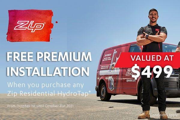 ZIP Free Premium Installation - Residential OCT 2021