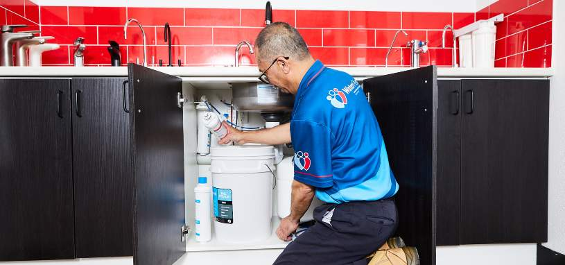 filtered water tap servicing and maintenance