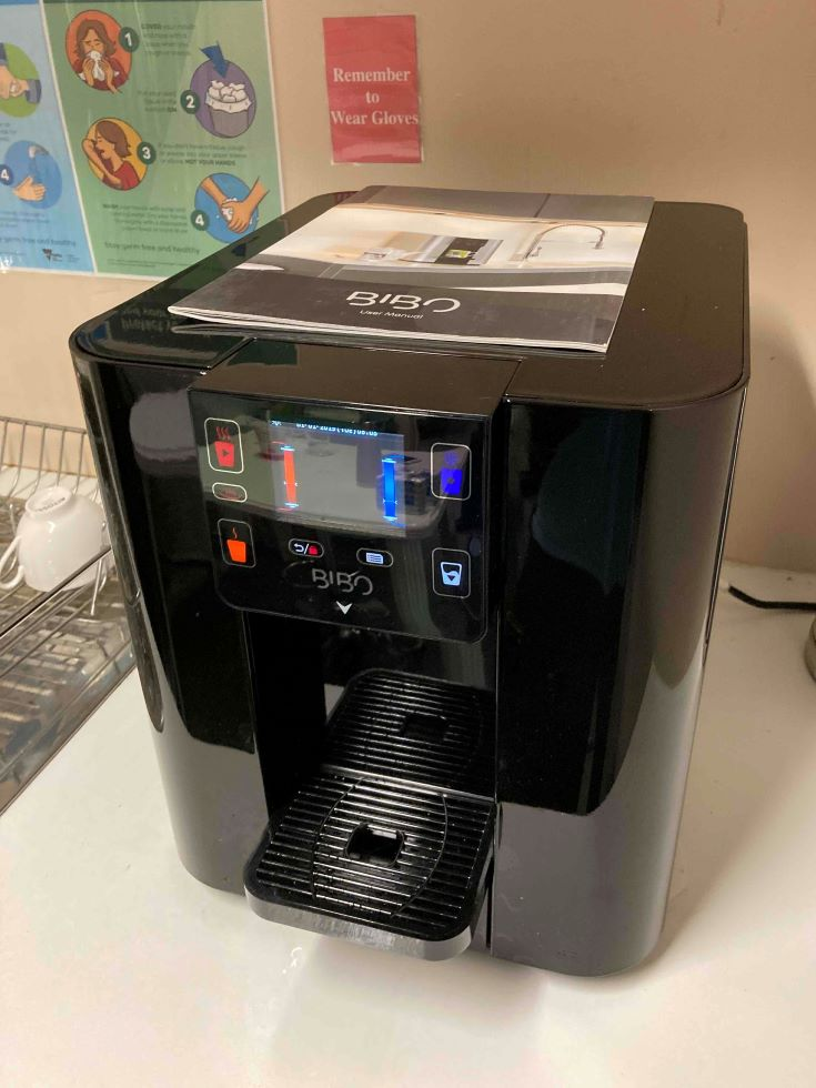 Bibo Counter Top Boiling & Chilled Water Filter System