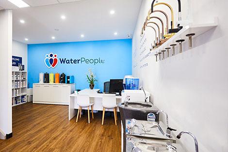 WaterPeople product showroom