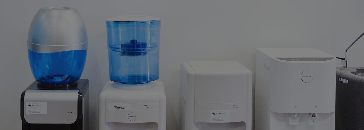 Different types of water dispensers