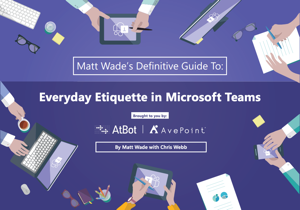 Everyday Etiquette in Microsoft Teams