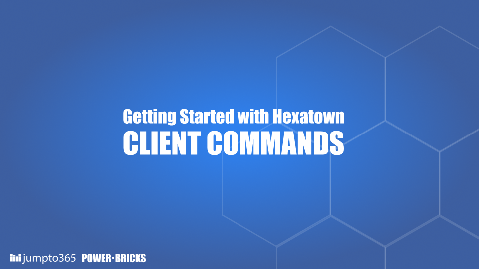 The HEXATOWN CLI is supporting you in the development of e.g. Power-Bricks. You get an overview of the commands here.