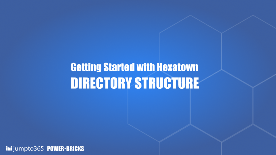Learn the how code, cache and configurations as organized in Hexatown