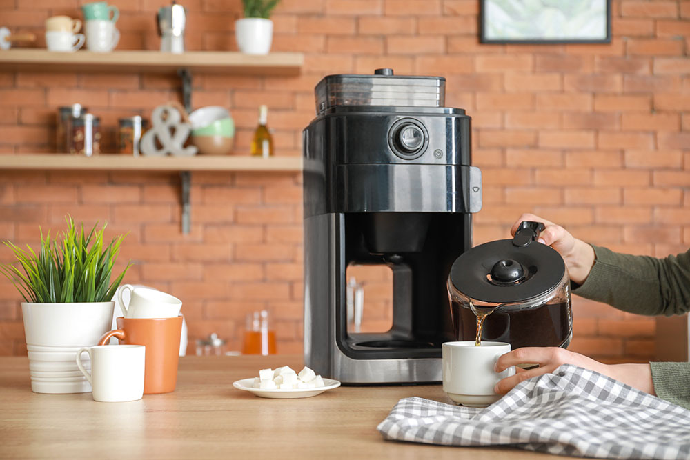 Coffee maker for medical students