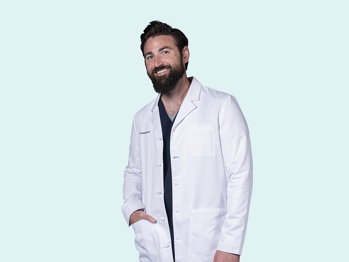 Dentist Chris Barrett