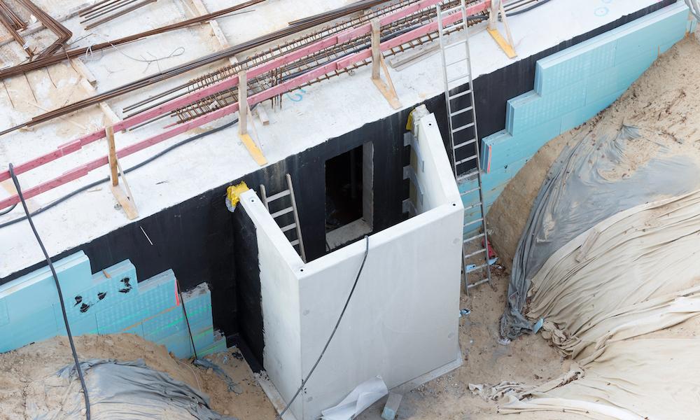 Bygga källare