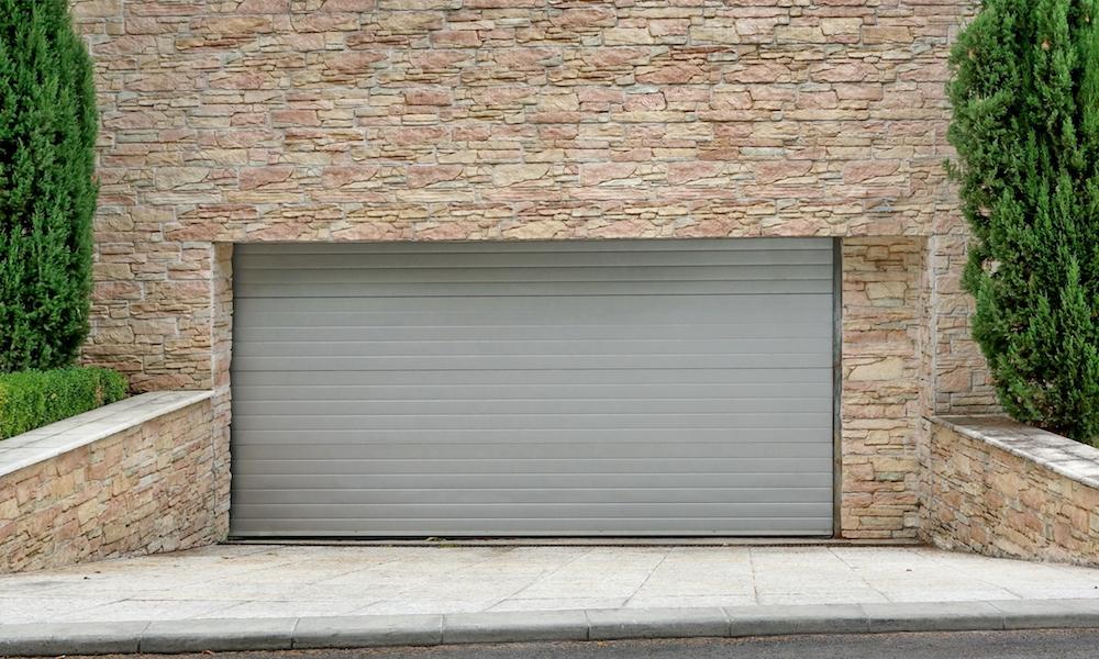 Garage under mark