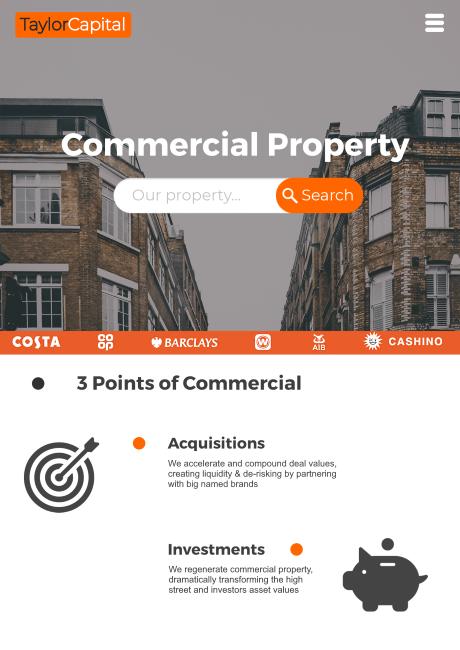 TaylorCapital 2019 Website Design