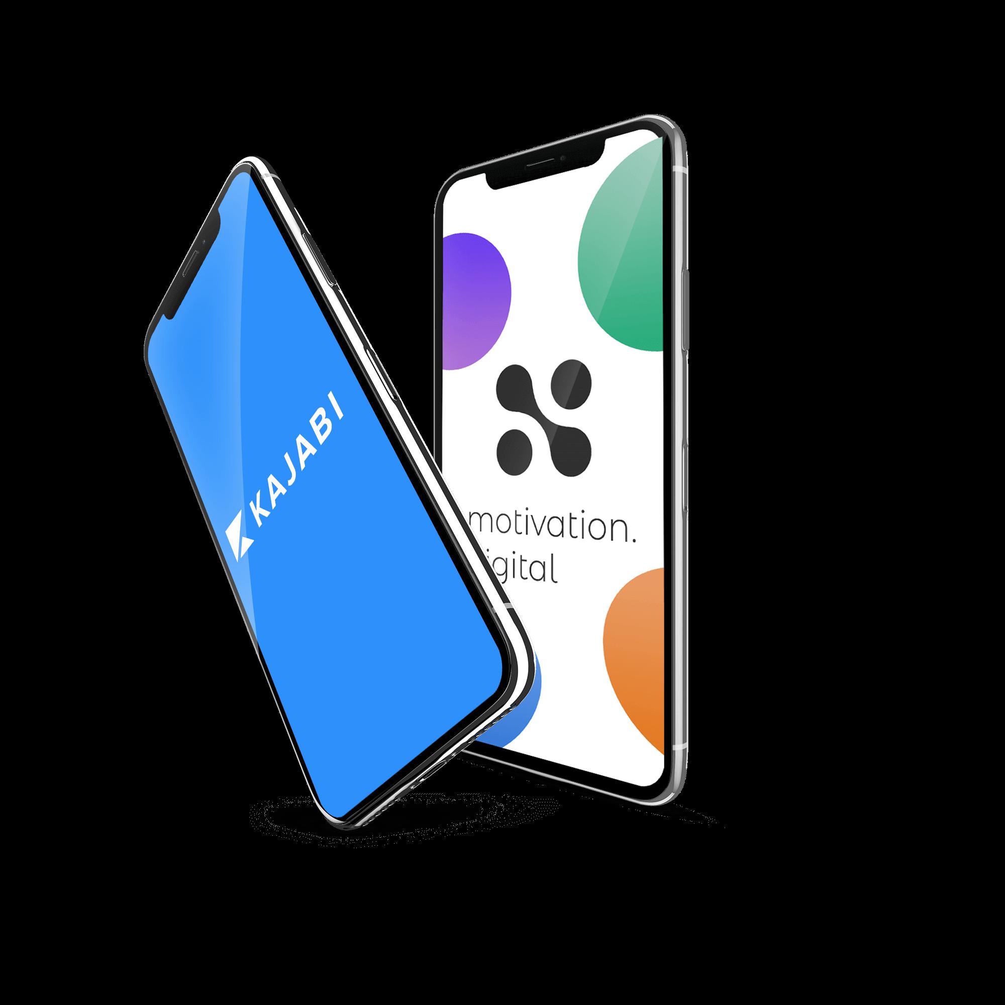 Kajabi Mobile Design and development Phones by Motivation Digital