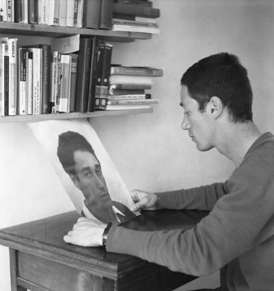David Ginton, Untitled (Self-Reflection)