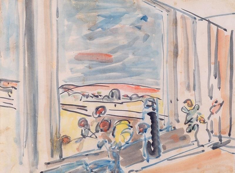 Joseph Zaritsky, Flowers on the Windowsill