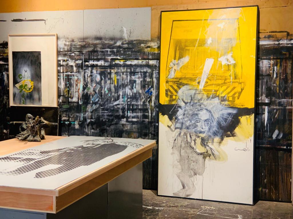 Studio Visit: Uri Lifshitz