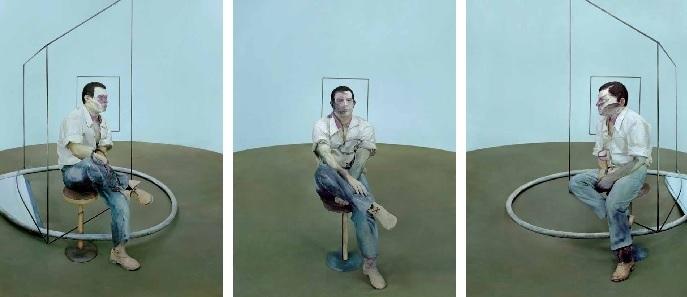 Michel Platnic, After Three Studies for Portrait of John Edwards, 1984