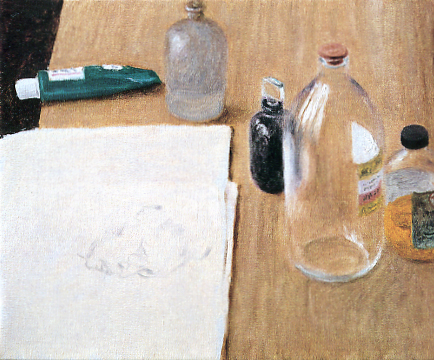 Avigdor Arikha, Ink and Solvents, Paris
