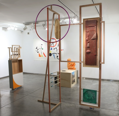 Ohad Meromi, Installation view at Gordon Gallery