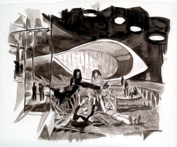 Ohad Meromi, Untitled (Black Box)