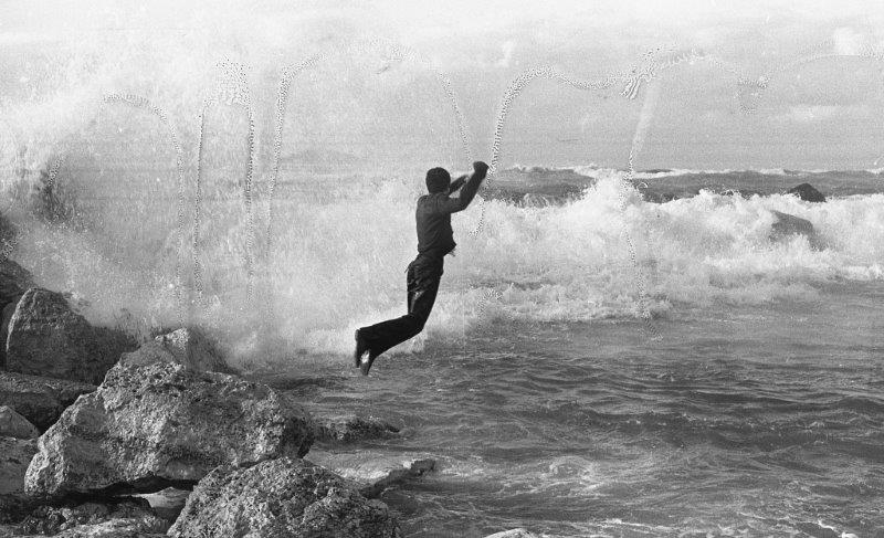 David Ginton, Jumping into a Stormy Sea