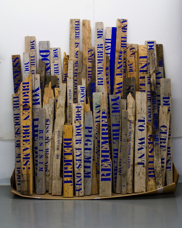 Pnina Reichman, Pigumim, installation