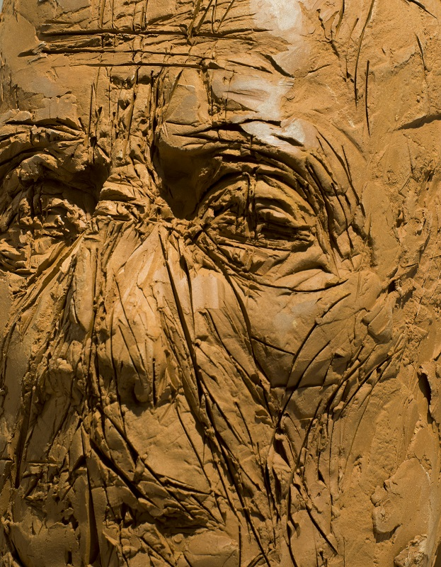 Ofer Lellouche, Self Portrait, detail