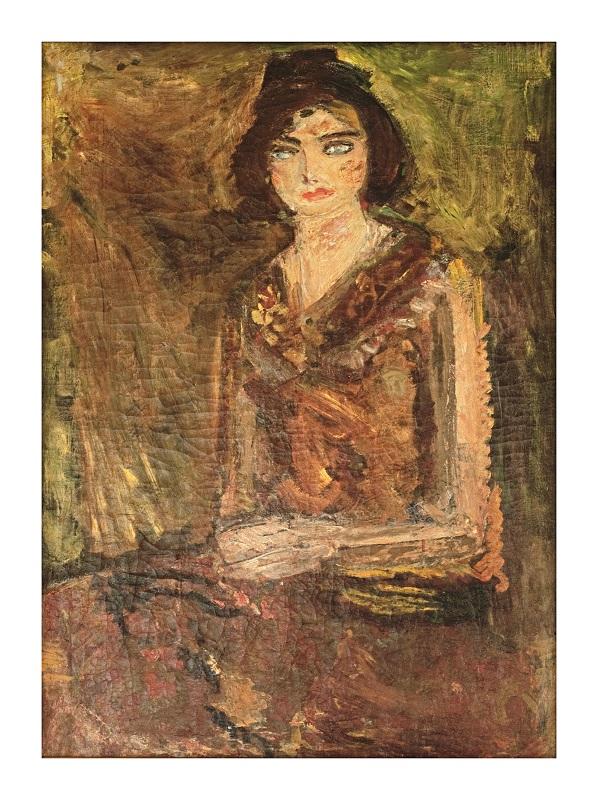 Joseph Zaritsky, Portrait of a Young Woman