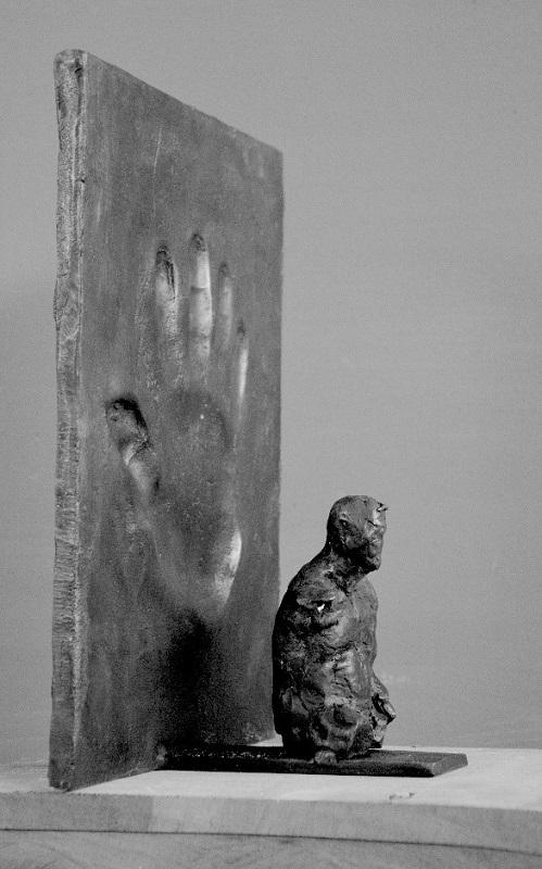 Ofer Lellouche, Self-Portrait with Hand