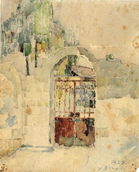 Joseph Zaritsky, Jerusalem Habashim Gate