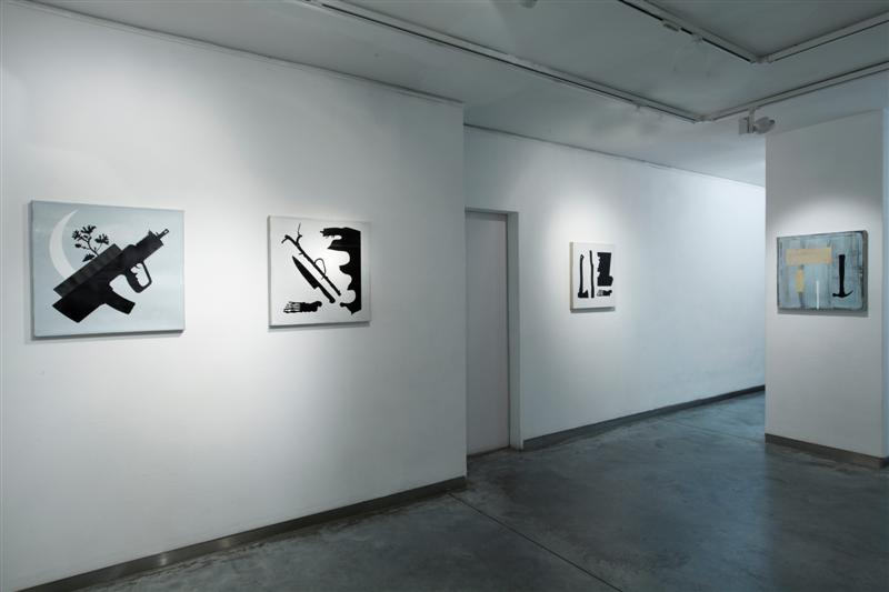 Larry Abramson, Symptoms- Installation view