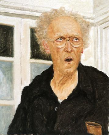 Avigdor Arikha, Self Portrait in The Studio