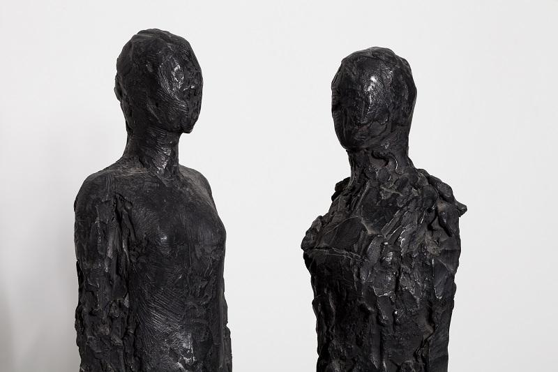 Ofer Lellouche, Two Figures, detail