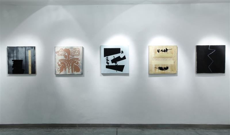 Larry Abramson, Symptoms- Installation view