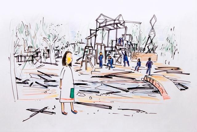 Ohad Meromi, The New Neighborhoods