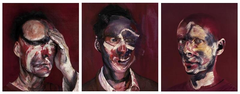 Michel Platnic, After Thre Studies for Portrait of Lucian Freud, 1965