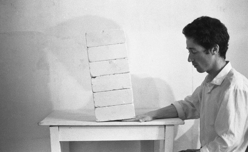 David Ginton, Untitled (Brick Piano)