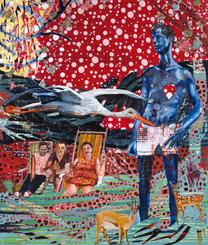 Ella Amitay Sadovsky, Root Treatment (triptych) (detail)