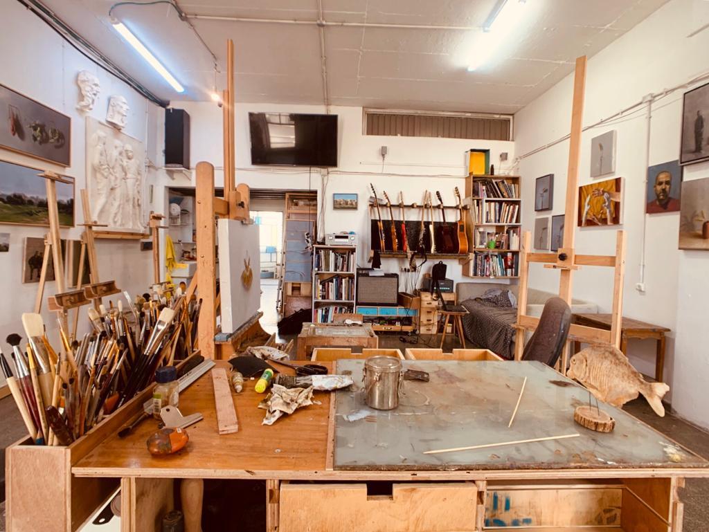 Studio Visit: Erez Aharon