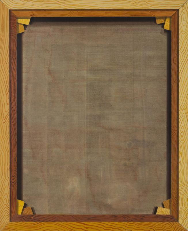 David Ginton, Back of a Painting, no. 1 in the Series of Empty Versos