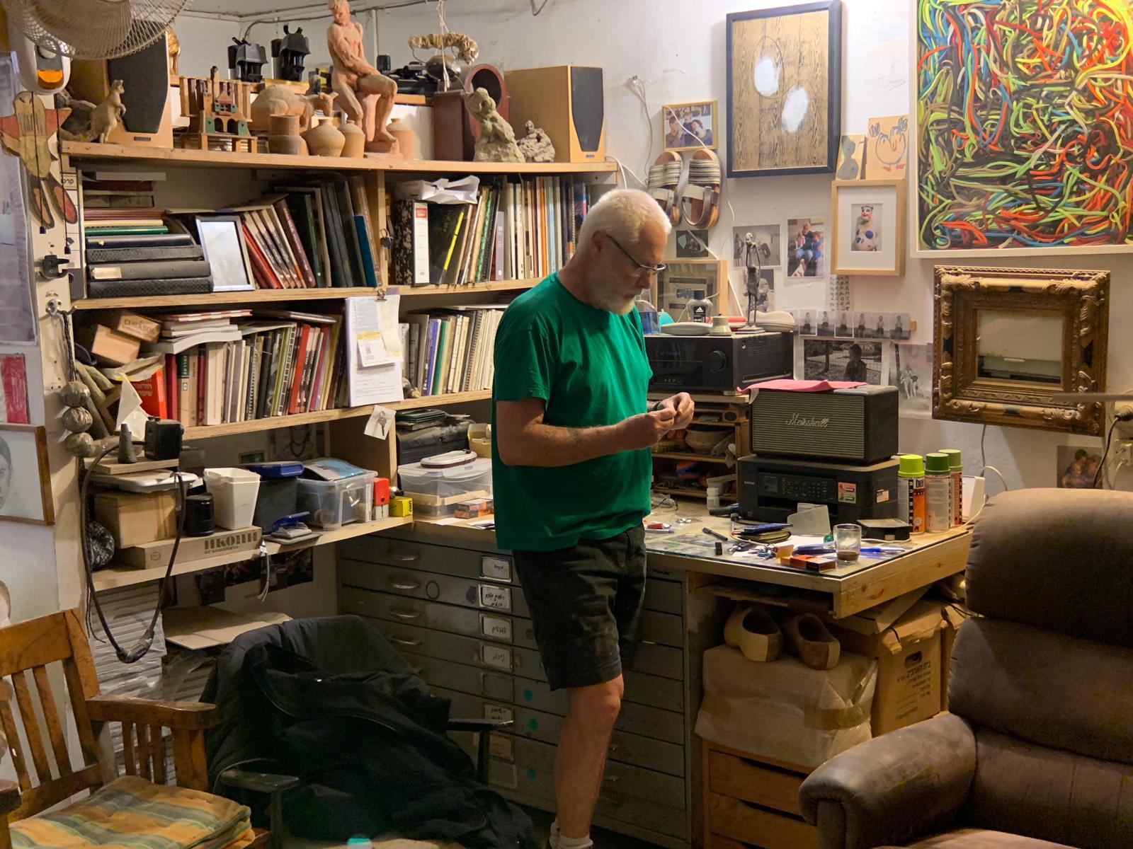 Studio Visit: Philip Rantzer