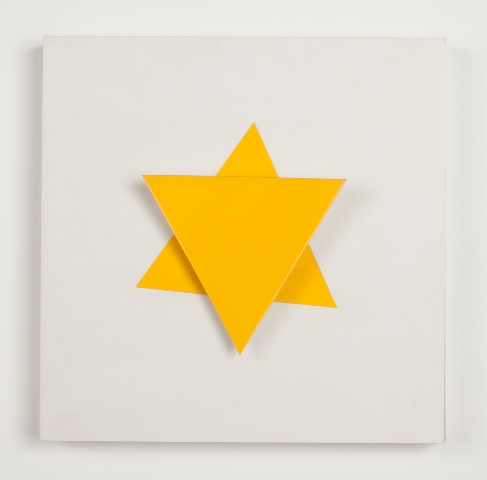 Buky Schwartz, Yellow Star of David