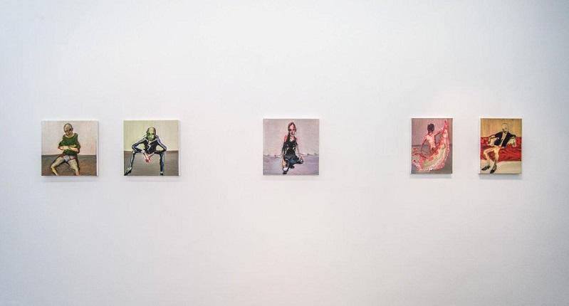 Yuri Kats, Straw Man Exhibition view