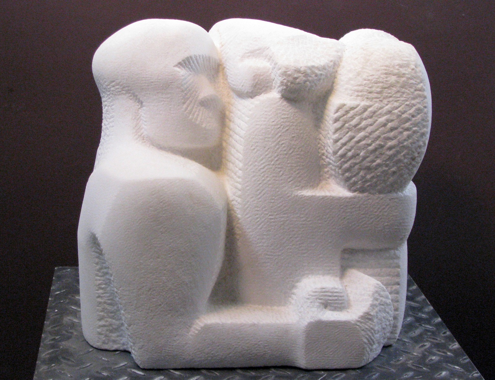 Nachum Enbar, Sculptor and his Sculpture 2