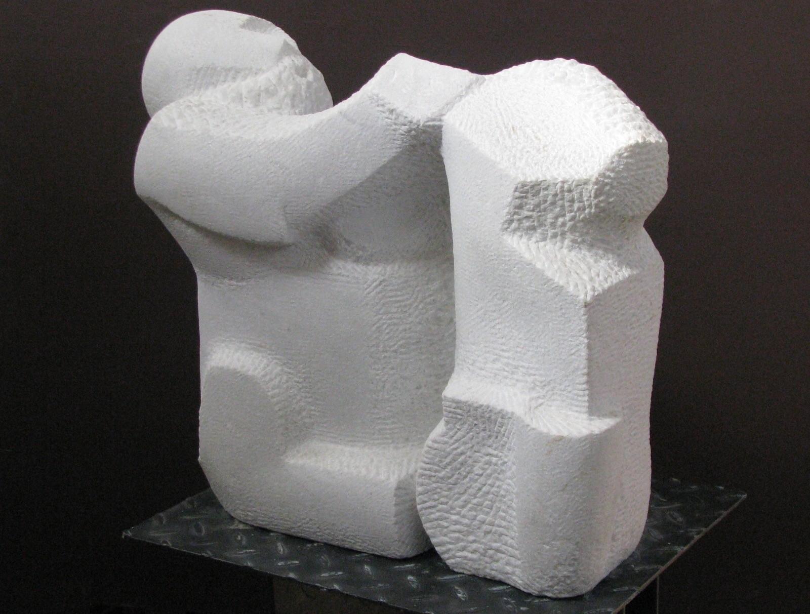 Nachum Enbar, Sculptor and his Sculpture 1