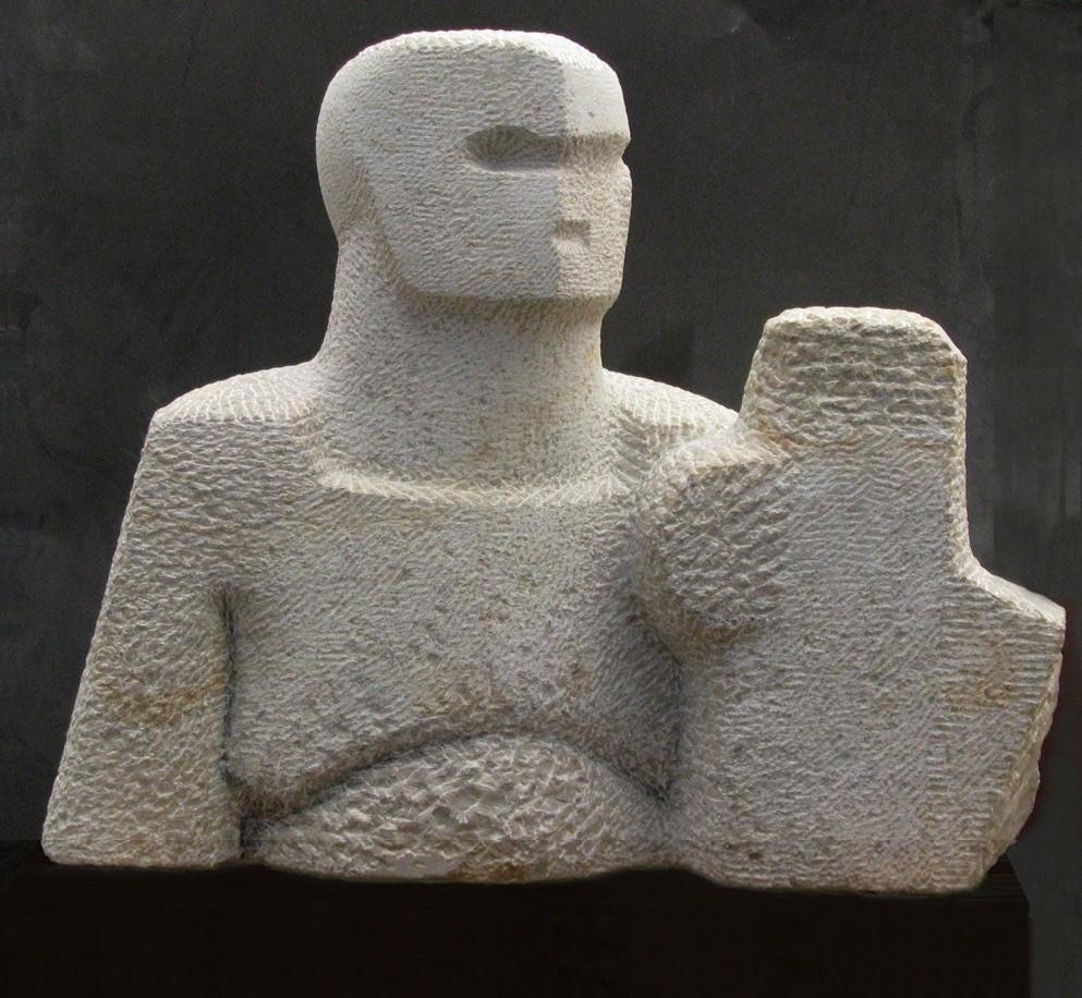Nachum Enbar, Sculptor and his Sculpture 3