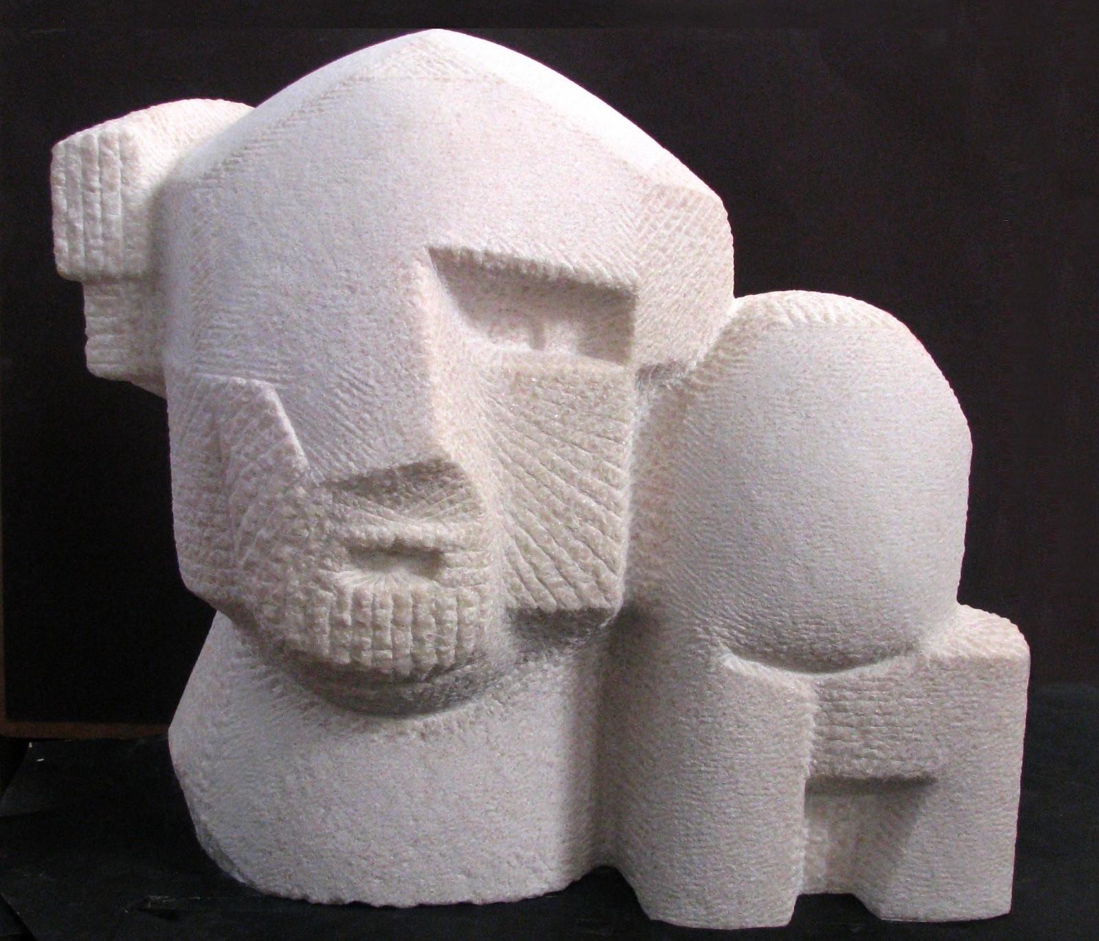 Nachum Enbar, Sculptor and his Sculpture 4