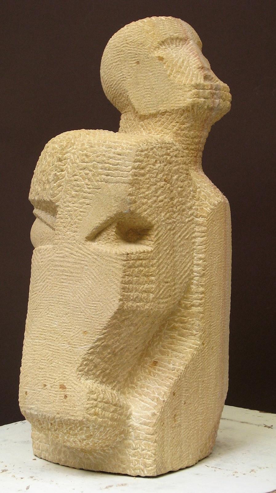 Nachum Enbar, Sculptor and his Sculpture 6